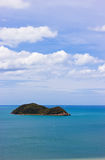 Noo islands view from Tangkouan Hill. In Songkhla, Thailand Stock Images