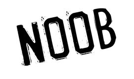 Noob rubber stamp Royalty Free Stock Photos