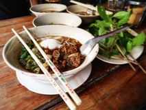 Nooddle thaïlandais Image stock