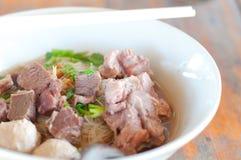 noodle βόειου κρέατος σούπα Στοκ φωτογραφίες με δικαίωμα ελεύθερης χρήσης