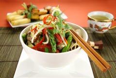 noodle βόειου κρέατος stirfry Στοκ εικόνες με δικαίωμα ελεύθερης χρήσης