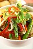 noodle βόειου κρέατος stirfry Στοκ Φωτογραφίες