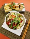 noodle βόειου κρέατος stirfry Στοκ Εικόνα