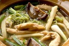 noodle ζωμού κοτόπουλου στοκ εικόνα με δικαίωμα ελεύθερης χρήσης