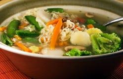 noodle η σούπα Στοκ Εικόνα