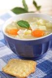 noodle κοτόπουλου σούπα Στοκ Φωτογραφίες