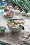 noodle κοτόπουλου φέτες Στοκ εικόνες με δικαίωμα ελεύθερης χρήσης