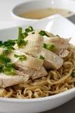 noodle κοτόπουλου Στοκ φωτογραφία με δικαίωμα ελεύθερης χρήσης