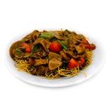 noodle μιγμάτων βόειου κρέατος Στοκ Εικόνα