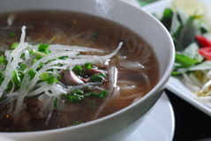 noodle σούπα ρυζιού Στοκ Εικόνα