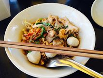 noodle σούπα Ταϊλανδός Στοκ φωτογραφία με δικαίωμα ελεύθερης χρήσης