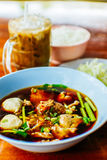 noodle σούπα Ταϊλανδός Στοκ Εικόνες