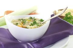 noodle σούπα Στοκ Εικόνες