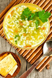 Noodle σούπα Στοκ εικόνες με δικαίωμα ελεύθερης χρήσης