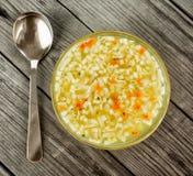 Noodle σούπα Στοκ Εικόνα