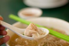 noodle σούπα wonton Στοκ εικόνες με δικαίωμα ελεύθερης χρήσης