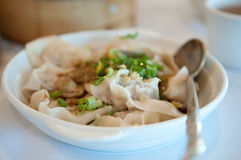 noodle σούπα wonton Στοκ φωτογραφίες με δικαίωμα ελεύθερης χρήσης