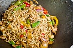 noodle τηγανητών ανακατώνει Στοκ φωτογραφία με δικαίωμα ελεύθερης χρήσης
