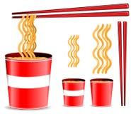 noodle φλυτζανιών Στοκ εικόνα με δικαίωμα ελεύθερης χρήσης