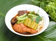 noodle ύφος Ταϊλανδός Στοκ φωτογραφία με δικαίωμα ελεύθερης χρήσης