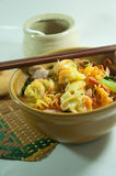 Noodle bowl Royalty Free Stock Images