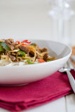 Noodle dish Royalty Free Stock Photo