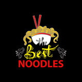 Noodle doodles Royalty Free Stock Photography