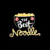 Noodle doodles Stock Photo