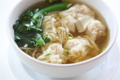 Noodle and dumpling Stock Photos