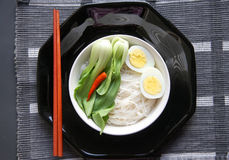 Noodle and egg Royalty Free Stock Photography
