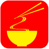 Noodle Food Sign Royalty Free Stock Images