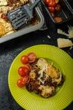 Noodle-Free Zucchini Ribbon Lasagna Stock Photography