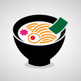 Noodle icon great for any use. Vector EPS10. Royalty Free Stock Images