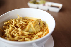 Noodle Khao soi , Thai food Stock Photography