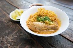 Noodle Khao soi Stock Image