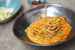 Noodle Khao soi , Thai food on Stock Photos