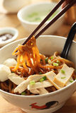 Noodle mee stock photos
