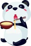 noodle panda Στοκ εικόνες με δικαίωμα ελεύθερης χρήσης