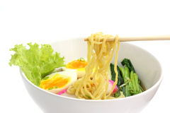 Noodle ranmen Japanese food Royalty Free Stock Photography