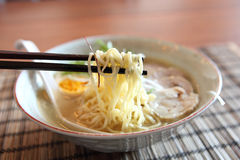 Noodle ranmen Japanese food Royalty Free Stock Image