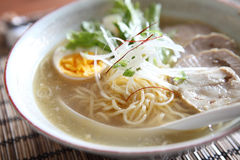 Noodle ranmen Japanese food Royalty Free Stock Images