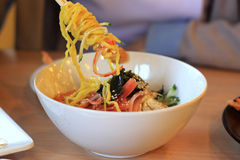 Noodle ranmen Japanese food Stock Photos
