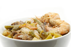 Noodle rice seafood Royalty Free Stock Photo