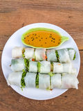 Noodle roll Stock Images