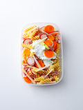 Noodle salad Royalty Free Stock Images
