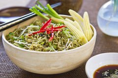 Noodle salad Stock Photography