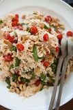 Noodle salad Stock Image