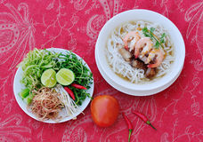 Noodle with seafood Royalty Free Stock Photo
