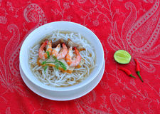 Noodle with seafood Stock Photography