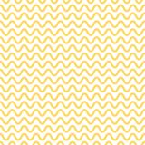 Noodle seamless pattern. Yellow and white waves. Abstract wavy background. Vector. Illustration Stock Illustration